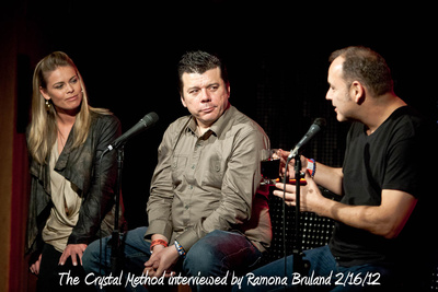 The Crystal Method interviewed by Ramona Bruland 2/16/12
