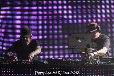 Tommy Lee and DJ Aero 7/7/12